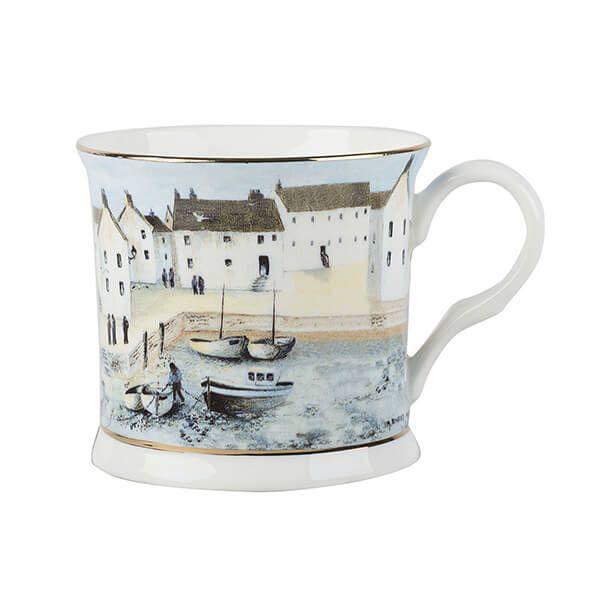 Creative Tops Cornish Harbour Palace Mug Blue