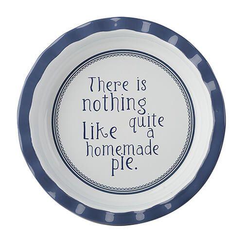 Katie Alice Vintage Indigo Round Pie Dish