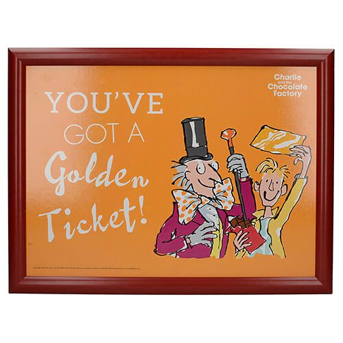 Roald Dahl Charlie & The Chocolate Factory Laptray