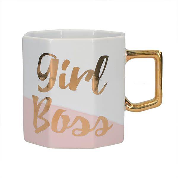Ava & I Octagonal Mug Girl Boss