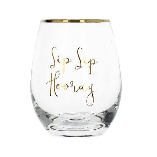 Ava & I Stemless Wine Glass