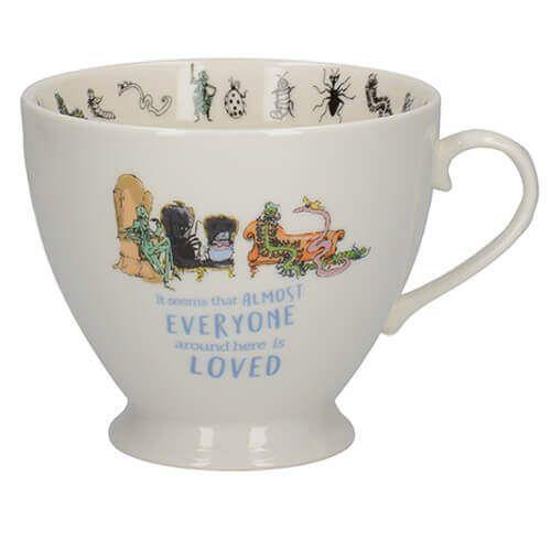 Roald Dahl James And The Giant Peach Footed Mug
