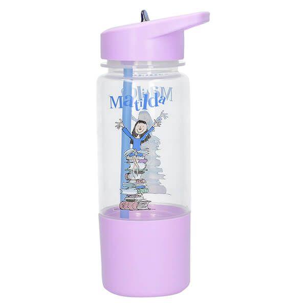 Roald Dahl Matilda Kids Hydration Bottle With Snack Pot