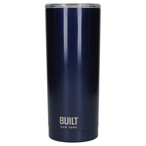 Built 568ml Double Walled Stainless Steel Travel Mug Midnight Blue