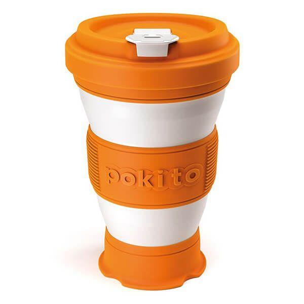 Pokito Pumpkin Pop Up Cup