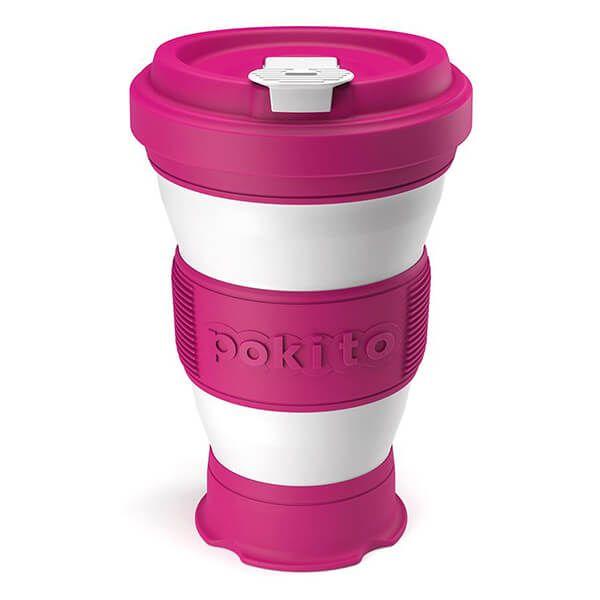 Pokito Rasberry Pop Up Cup