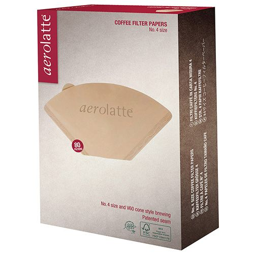 Aerolatte Paper Filter For Four Cup