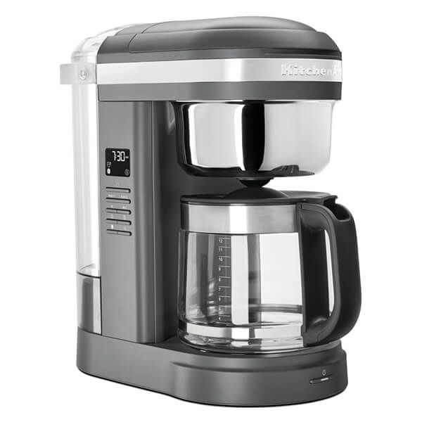 KitchenAid 12 Cup Classic Drip Coffee Maker Charcoal Grey