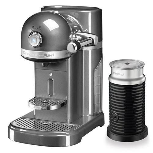 Kitchenaid Artisan Nespresso Medallion Silver Coffee Maker
