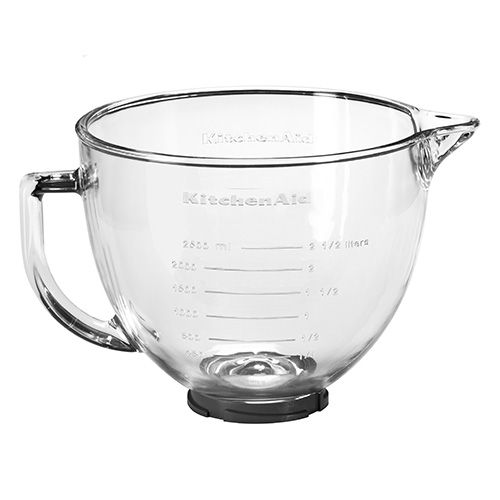 Fantastic Kitchenaid Artisan 4 8 Litre Glass Bowl With Lid Download Free Architecture Designs Ferenbritishbridgeorg