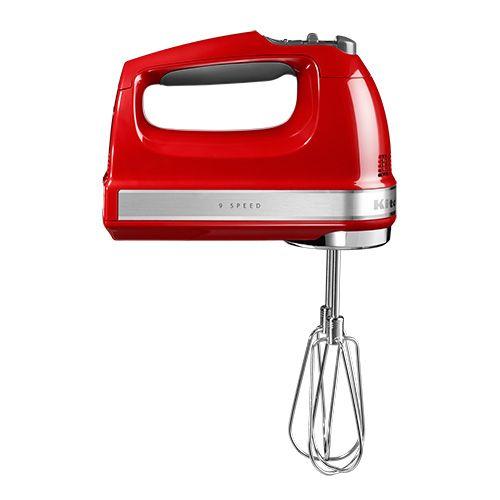 KitchenAid 9 Speed Hand Mixer Empire Red