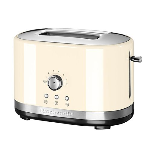 KitchenAid Almond Cream Manual Control Toaster