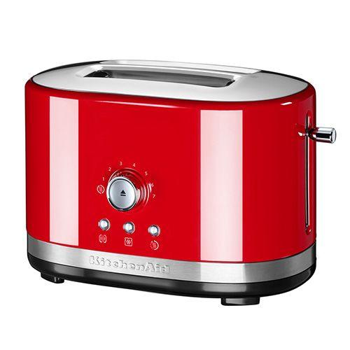 KitchenAid Empire Red Manual Control Toaster