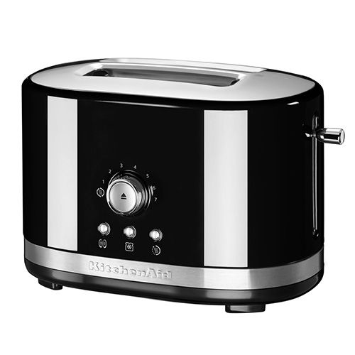 KitchenAid Onyx Black Manual Control Toaster