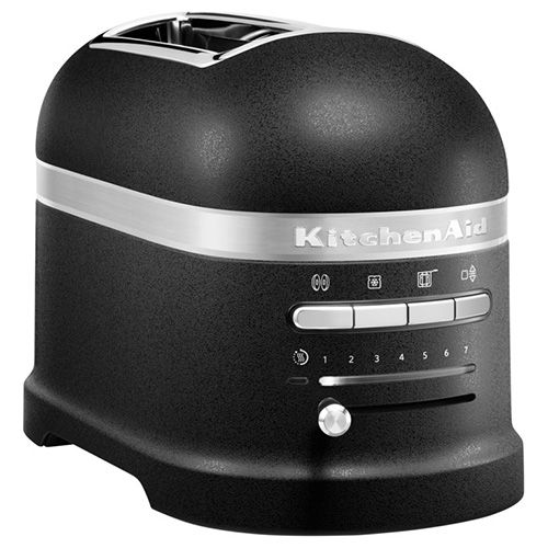 KitchenAid Artisan Cast Iron Black 2 Slot Toaster