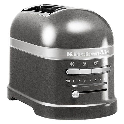 KitchenAid Artisan Medallion Silver 2 Slot Toaster