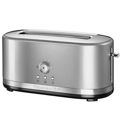 KitchenAid Contour Silver Manual Control Long Slot Toaster