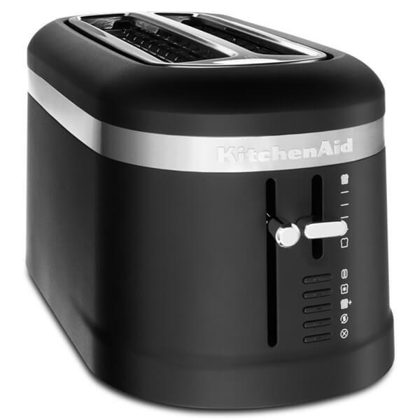 KitchenAid Design Matte Black 2 Slot Toaster