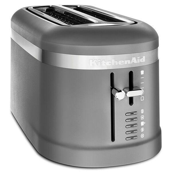KitchenAid Design Charcoal Grey 2 Slot Toaster