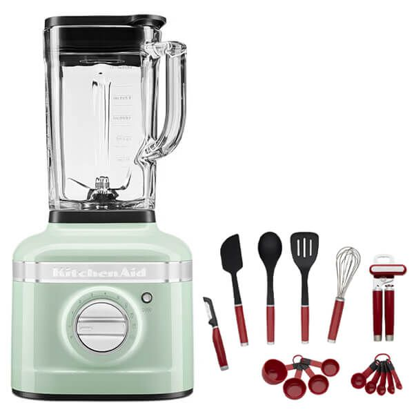 KitchenAid Artisan Pistachio K400 Blender with FREE Gift