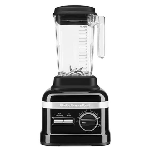 KitchenAid Artisan Onyx Black High Performance Blender 1.75L with FREE Gift