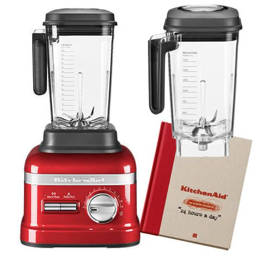 KitchenAid Artisan Empire Red Power Blender with FREE Gifts