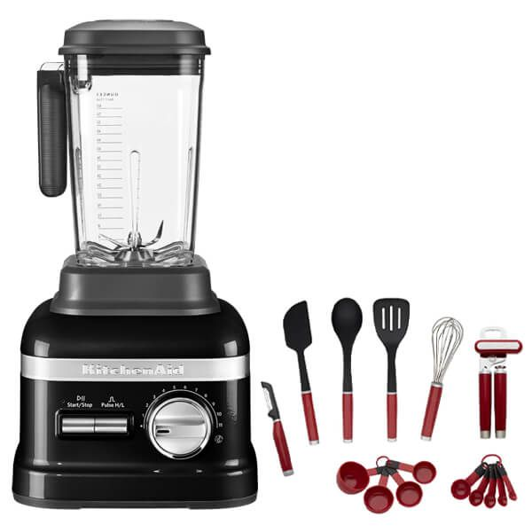 KitchenAid Artisan Onyx Black Power Blender with FREE Gift