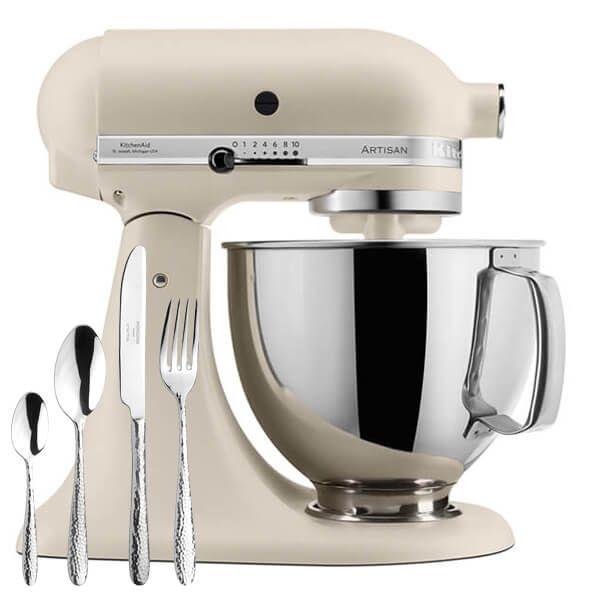 KitchenAid Artisan Mixer 175 Fresh Linen With FREE Gift