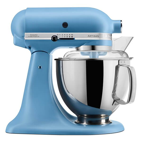 KitchenAid Velvet Blue Artisan 4.8L Stand Mixer