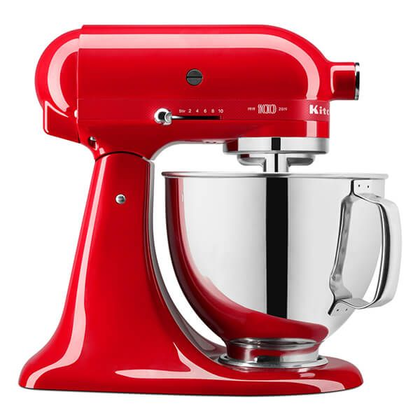 KitchenAid Limited Edition Queen Of Hearts 4.8L Artisan Stand Mixer
