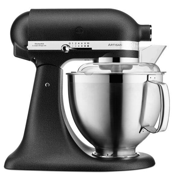 KitchenAid Artisan Mixer 185 Cast Iron Black