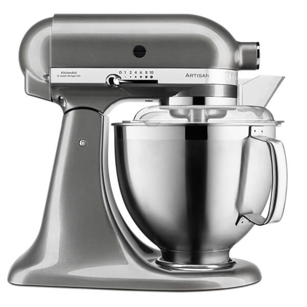 KitchenAid Artisan Mixer 185 Medallion Silver