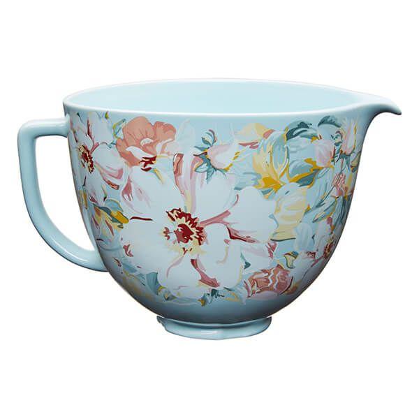 KitchenAid Ceramic 4.8L Bowl White Gardenia