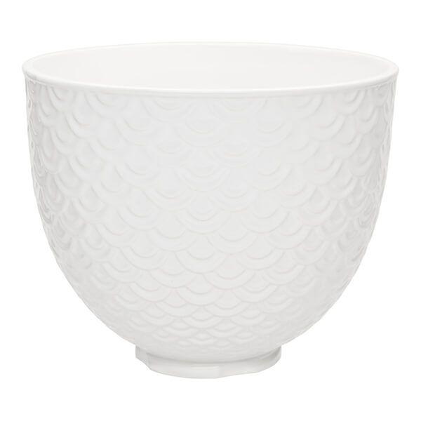 KitchenAid Ceramic 4.8L Bowl Mermaid Lace