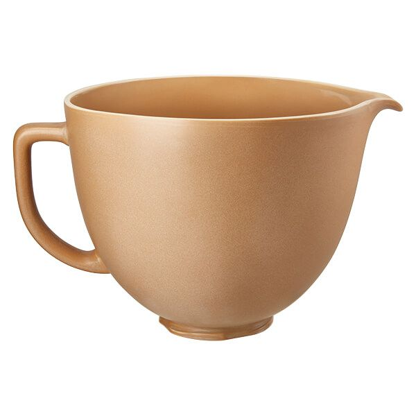 KitchenAid Ceramic 4.8L Mixer Bowl Fired Clay