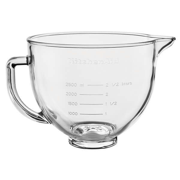 KitchenAid Artisan 4.8 Litre Glass Bowl with Lid