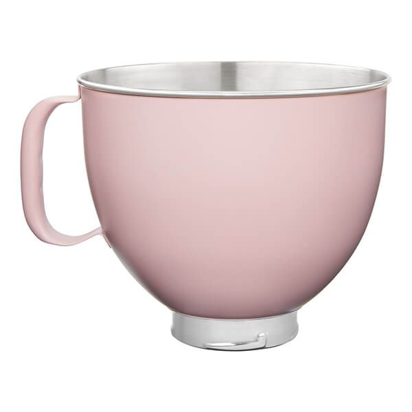 KitchenAid Stainless Steel 4.8L Mixer Bowl Dried Rose