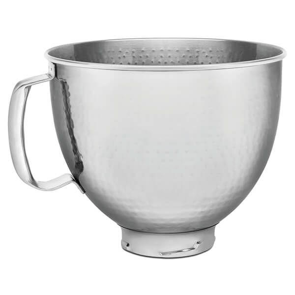 KitchenAid Stainless Steel Hammered Metal 4.8L Mixer Bowl