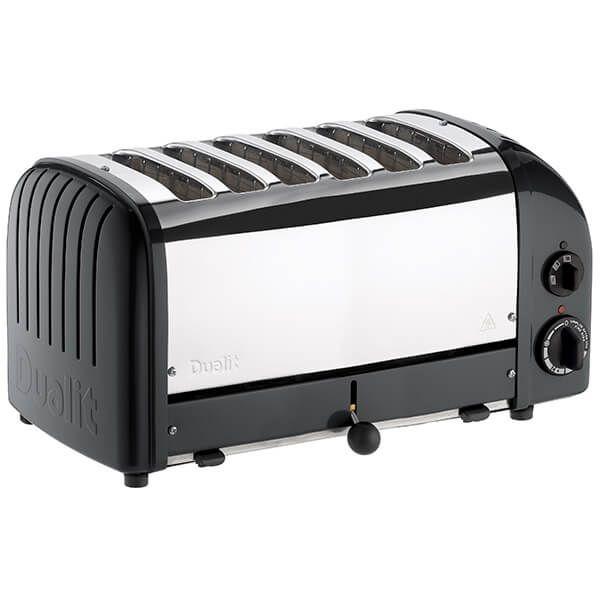 Dualit Classic Vario AWS Black 6 Slot Toaster