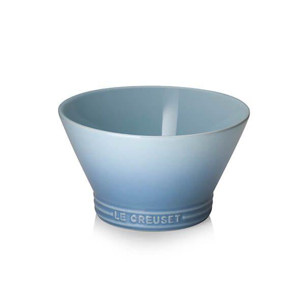 Le Creuset Coastal Blue Serveware Fusion Noodle Bowl 600ml
