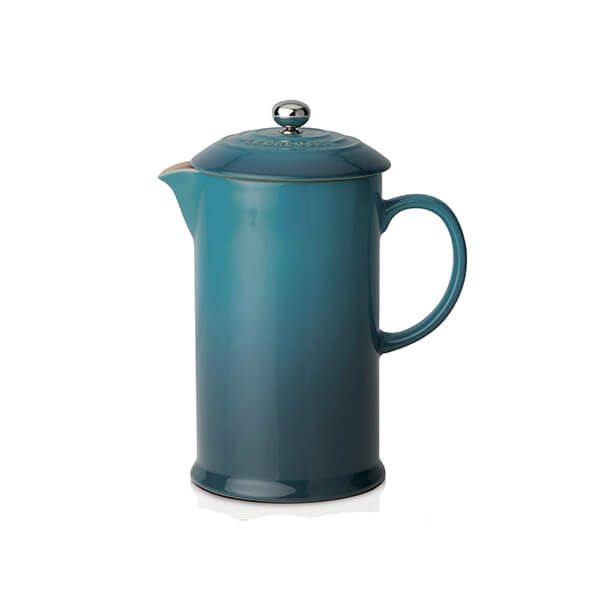 Le Creuset Deep Teal Stoneware Cafetiere
