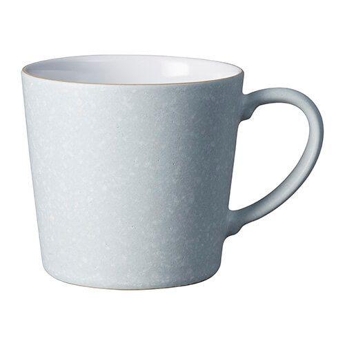 Denby Grey Speckled Large Mug
