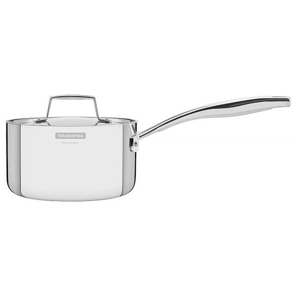 Tramontina Grano 16cm 3-ply Stainless Steel Milkpan with Lid