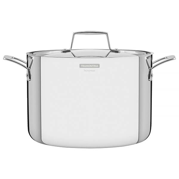 Tramontina Grano 24cm 3-ply Stainless Steel Stock Pot