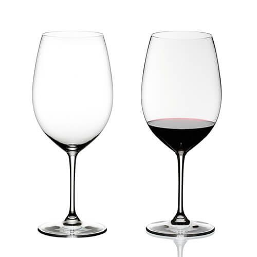 Riedel Vinum Bordeaux Grand Cru Set Of 2 Glasses