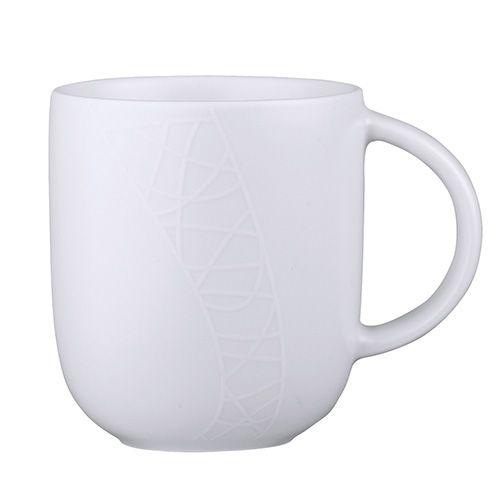 Jamie Oliver White On White (Cosy) Mug