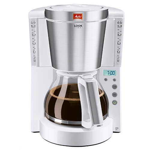 Melitta Look Timer White Filter Coffee Machine 1011-07