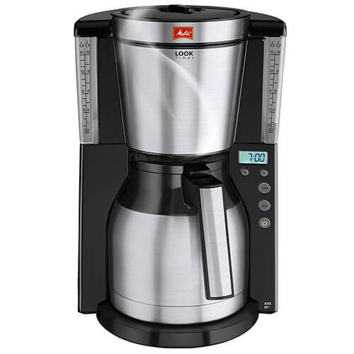 Melitta Look Therm Timer Black Filter Coffee Machine 1011-16