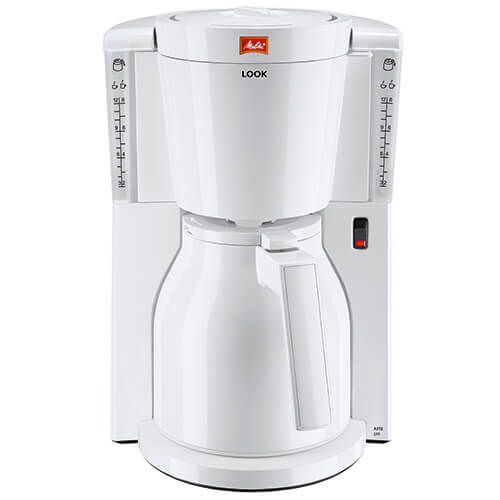 Melitta Look Therm White Filter Coffee Machine 1011-09