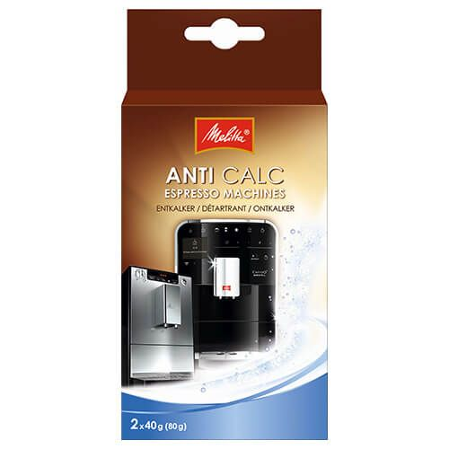 Melitta Anti Calc Espresso Machine Descaling Powder